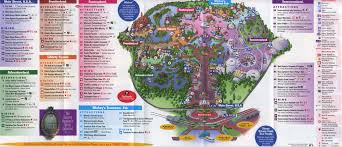 Map Orlando Fl by Theme Park Brochures Walt Disney World Magic Kingdom Theme Park