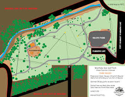 Map Of Grand Junction Colorado by Westlake Park Professional Disc Golf Association