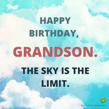 birthday wishes grandson from your grandma amp grandpa birthday
