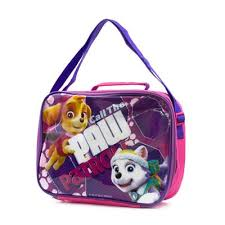 paw patrol kids insulated lunch bag 90168 shoe zone