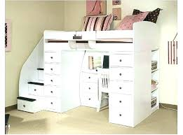 Bunk Bed With Desk And Drawers Loft Bed With Desk And Storage Nopasaran
