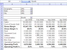 Simple Profit And Loss Excel Template Quarterly Half Yearly Profit Loss Reports In Excel Part 5 Of 6