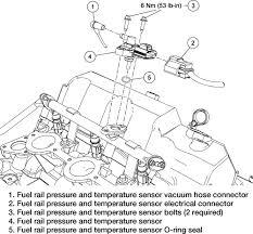 fuel rail pressure sensor ford explorer and ford ranger forums