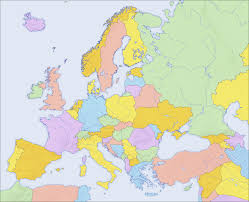 Blank Caribbean Map by Europe Political Blank Map