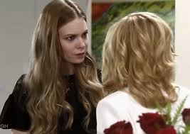 maxies short hair general hospital general hospital spoilers nelle gives carly a disturbing