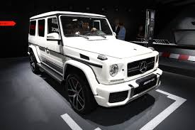 mercedes g class blacked out mercedes amg g 63 and g 65 exclusive editions debut at frankfurt