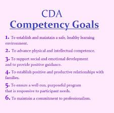 6 cda competency goals cda and ece pinterest goal child