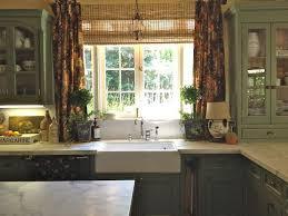 Cottage Kitchen Curtains by Best 25 Green Kitchen Curtains Ideas On Pinterest Teal Kitchen