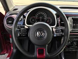 beetle volkswagen interior 2017 volkswagen beetle pinkbeetle test drive review autonation