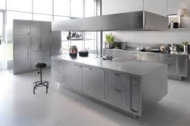 Chef Kitchen Ideas by 6 Beautiful Stainless Steel Kitchen Ideas