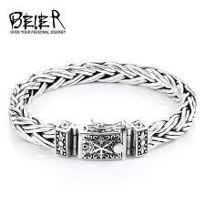 bracelet fine images Beier thailand import silver sterling hand knitting classic jpg