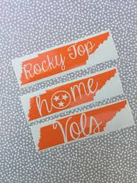 tennessee vols decal rocky top tennessee vinyl decal