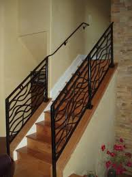 Indoor Banister Mclean Forge And Welding Custom Indoor Railing Boulder Co