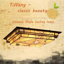 stained glass ceiling light fixtures 2018 fumat square ceiling l stained glass ceiling lights classic