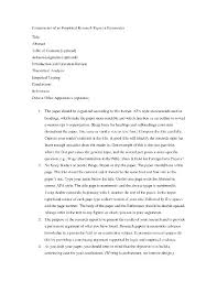 What To Title A Resume Renaissance Father Of The English Essay Garbage King Book Report