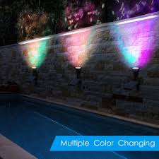 color changing outdoor lights color changing outdoor lights new amazon amir 2 in 1 solar