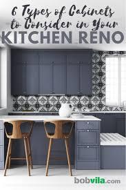 painted white flat panel kitchen cabinets 6 kitchen cabinet styles to consider bob vila bob vila