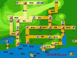 Sinnoh Map Pokemon Clover U2013 Thebluebulbasaur