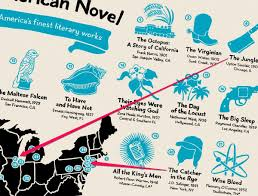 Los Angeles Valley College Map by Map Shows Where 42 Great Us Novels Happened Business Insider