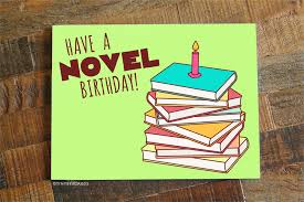 happy birthday book a novel birthday book lover birthday card tiny bee cards