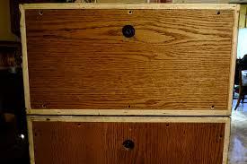 Diy Bass Cabinet Diy Homemade Bass Cabinet 2x10 U0026 2x15 Reverb