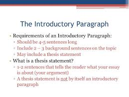 how to write a introduction paragraph for an essay apush review how to write an introductory paragraph ppt