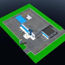 floor plan car dealership 3d model car dealership for poser cgtrader