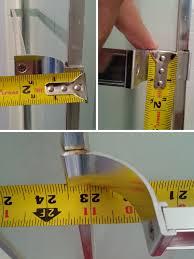 sliding shower door towel bar replacement parts swisco com