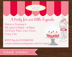 printable cupcake party collection creative little parties