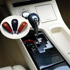 lexus shift mahogany look carbon fiber car automatic gear shift knob