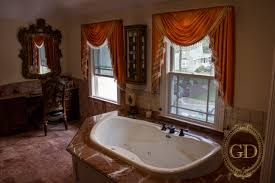 bathroom window treatments for bathrooms wall paint color