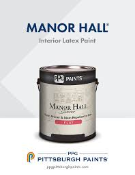 ppg pittsburgh paints manor hall interior paint