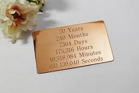 20th anniversary gift 20th anniversary gift twenty year anniversary gift for