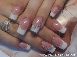 french acrylic nail design nail designs u0026 nail art