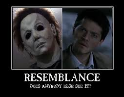 Michael Myers Memes - the resemblance of castiel and michael myers by hichixichi on deviantart