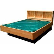 Natural Wood Bookcase Buy Natural Wood Bookcase Waterbed Online Waterbeds Today