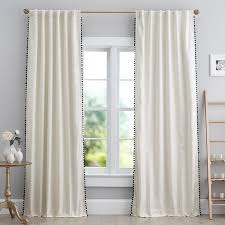 Drawstring Drapes Modern Natural Linen Curtains In Eco Friendly Style Alluring And