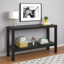 mainstays parsons end table mainstays parsons console table multiple colors available walmart com