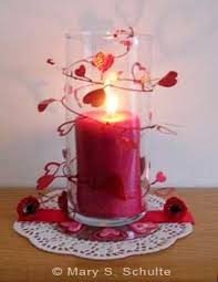 Candle Centerpieces 10 Quick And Easy Valentine U0027s Day Candle Centerpieces