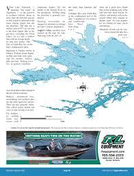 lake nipissing angler u0027s atlas
