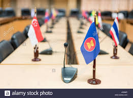 Southeast Asia Flags View Of National Flags Of Southeast Asia Countries Brunei Stock