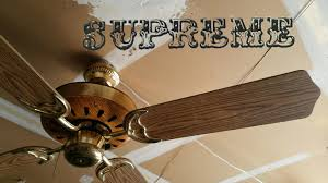 Murray Feiss Fans Supreme Mark X Ceiling Fan 1080p60 Remake Youtube