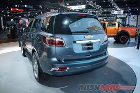 chevrolet trailblazer facelift india launch early next year
