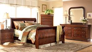 Ashley Bed Frames by Bedroom Ashley Leather Sleigh Bed Travertine Alarm Clocks Lamp