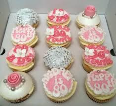 80th birthday cupcakes bakealous