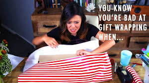 Wrapping Presents Meme - you know you re bad at gift wrapping when youtube