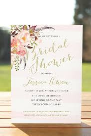 wedding shower invitation bridal shower invitation boho bridal shower printable bridal