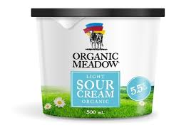 light sour cream nutrition organic meadow