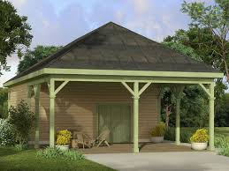 Building An Attached Carport Carport Plans Carport Plan With Attached Workshop 051g 0088 At