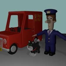 postman pat blend swap